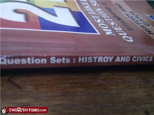 engrish,history,school,typo