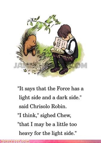 art chewbacca cute Hall of Fame Han Solo sci fi star wars winnie the pooh - 4582591488