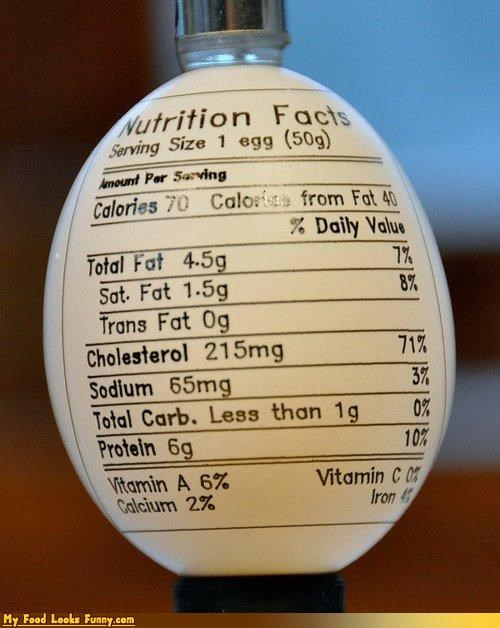 egg,ink,label,nutritional information,print