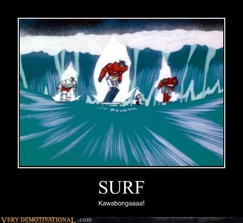 cartoons,surfing,transformers,wtf
