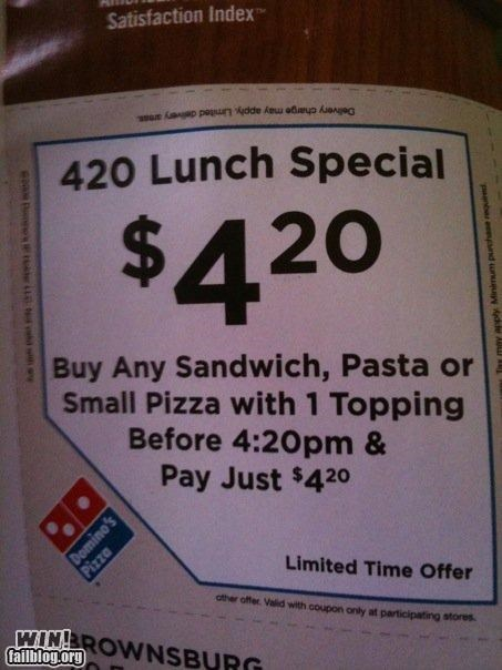 420 awesome at work drugs marijuana pizza - 4582849024