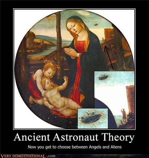 Aliens ancient astronaut angels - 4583746816