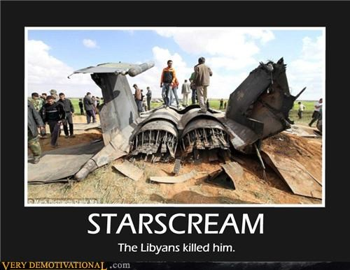 jet lybia star scream - 4584182272