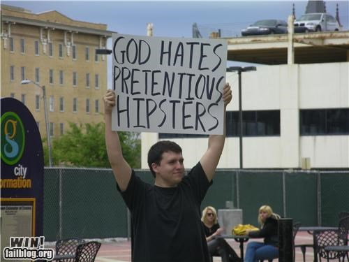 hipster,Protest,signs,touché,wbc