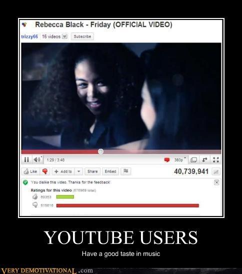 Music Rebecca Black youtube - 4584673792