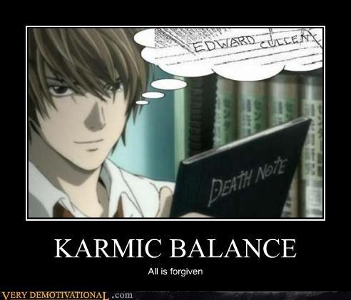 KARMIC BALANCE