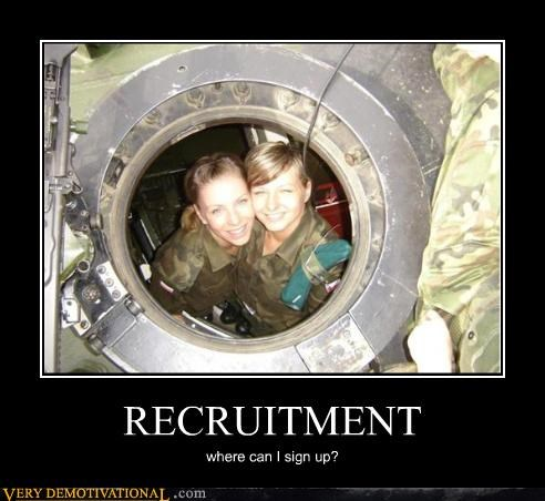 hole,military,recruitment,Sexy Ladies,wtf