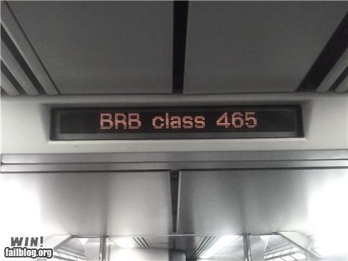 acronym brb class college school - 4585334528
