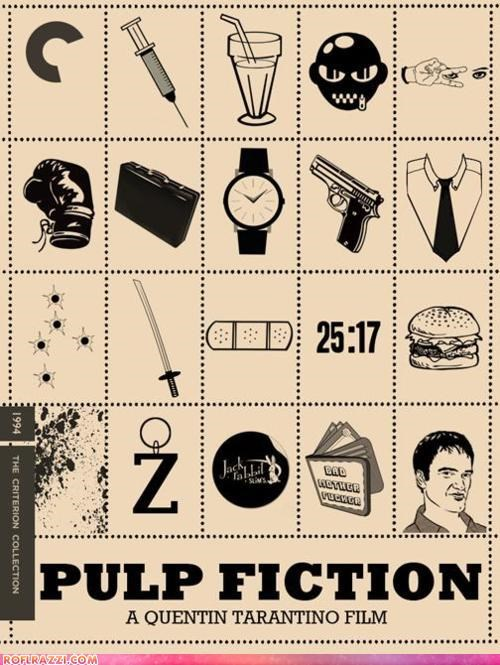 Movie poster pulp fiction quentin tarantino - 4585850368