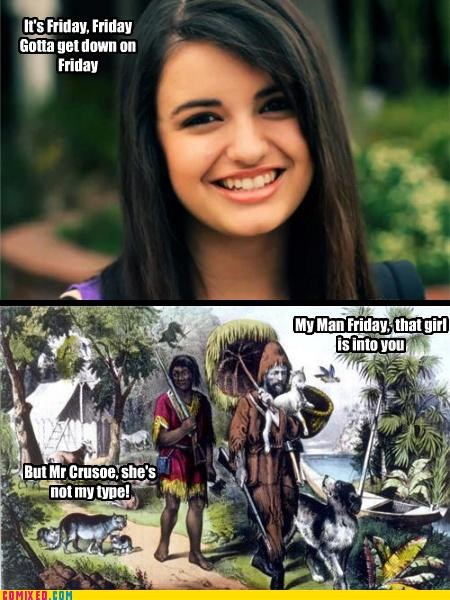 crusoe,FRIDAY,Rebecca Black
