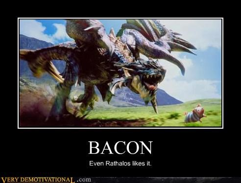 bacon,cartoons,dragon,pig