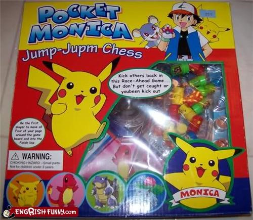 checkers chess Pokémon toy - 4586665216
