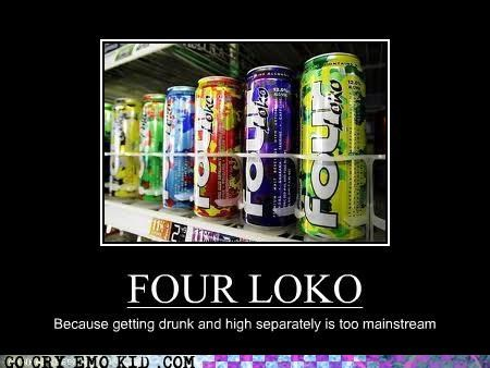 awesome drunk emolulz four loko high - 4587040768