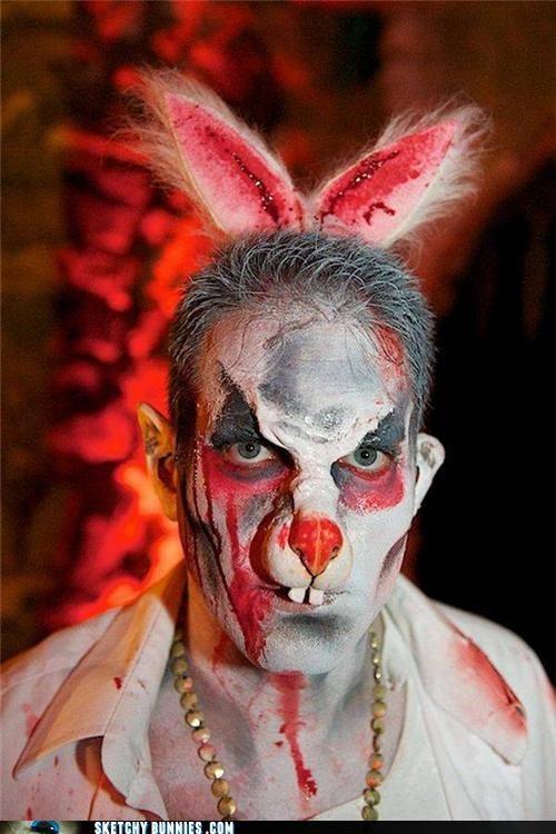 creepy face paint faux blood - 4587181568