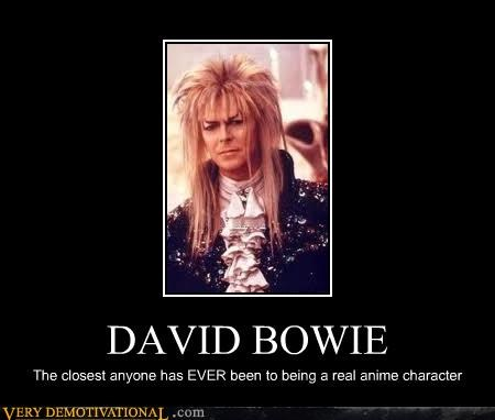 anime david bowie Hall of Fame labyrinth - 4587200256