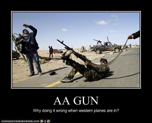 AA GUN Why doing it wrong when western planes are in?