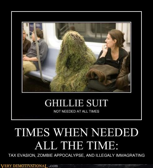 ghillie suit,needed,wtf