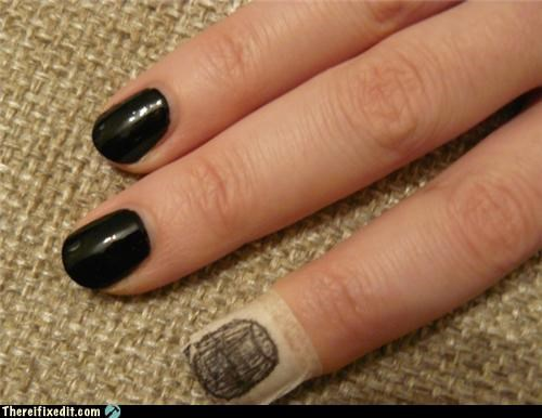 looks medical condition nails sharpie