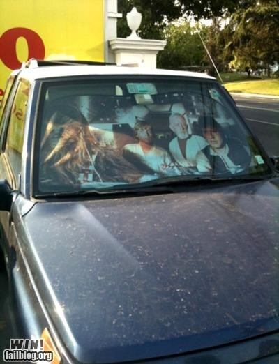 driving,Millenium Falcon,nerdgasm,star wars