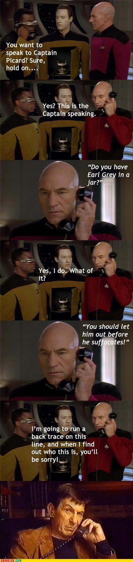 joke Leonard Nimoy phone prank Star Trek - 4588766720