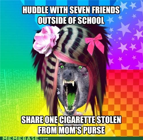 cigarette,moms-purse,skip school,stolen