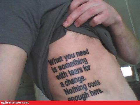 wtf text tattoos funny - 4589736192