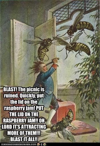 animals art bees funny illustration - 4589750528