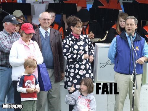 celeb,kids,middle finger,package post,Parenting Fail,Sarah Palin