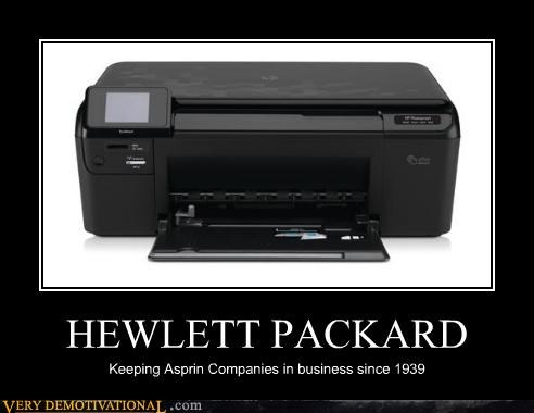 asprin hewlett packard horrible printer - 4591244544