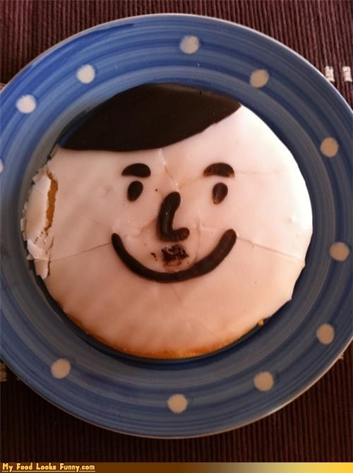 cake chocolate happy hitler icing