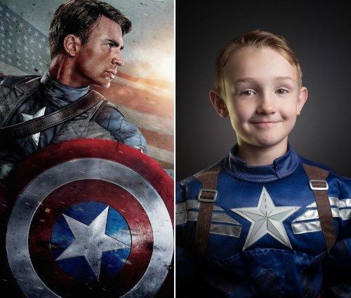 cosplay photography kids photoshop captain america - 459269
