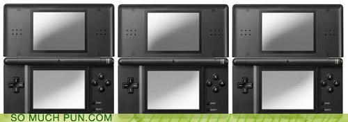 3DS handheld literalism nintendo nintendo ds three video games