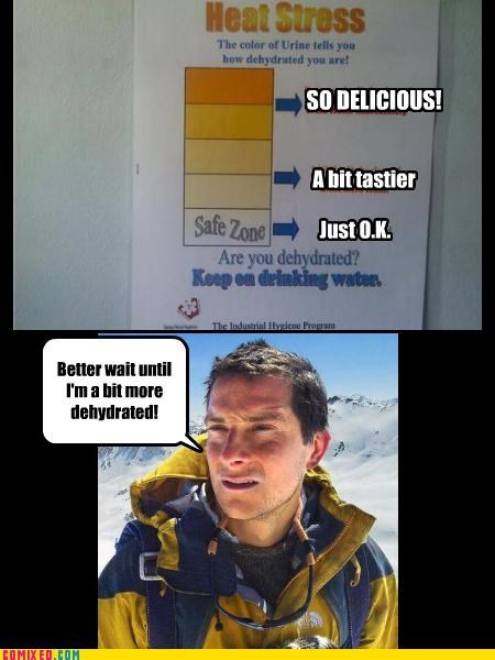 bear grylls dehydrated urine - 4595367680