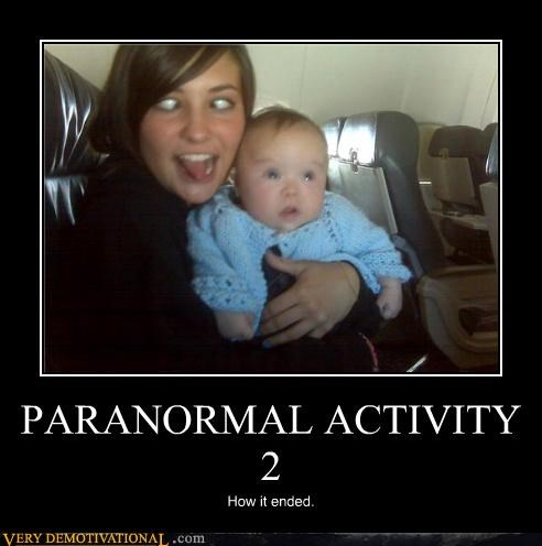 PARANORMAL ACTIVITY 2 How it ended.