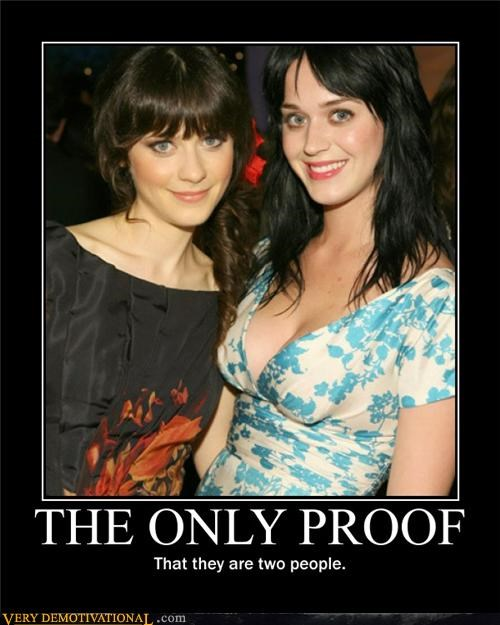 Hall of Fame,katy perry,look alike,Zoey Deschanel