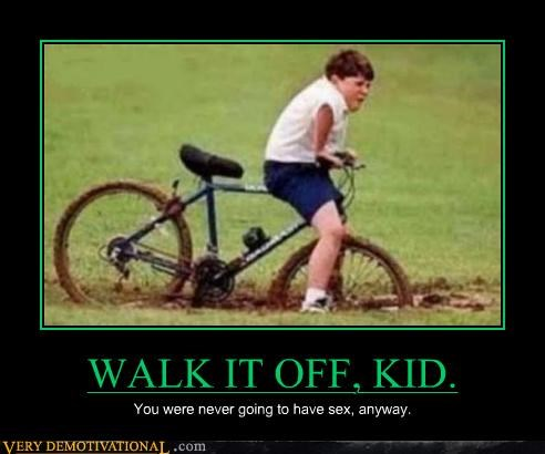 bike crotch shot kid ouch - 4596420352