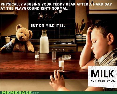 lait leche milk Not Even Once - 4596719872