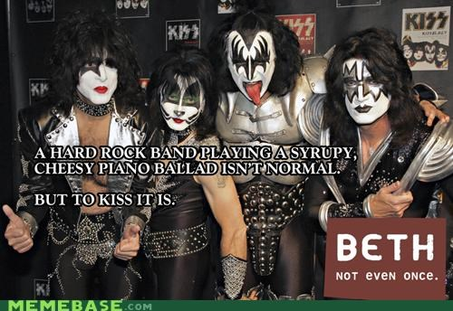 ballad beth KISS metal Not Even Once rock - 4596840704