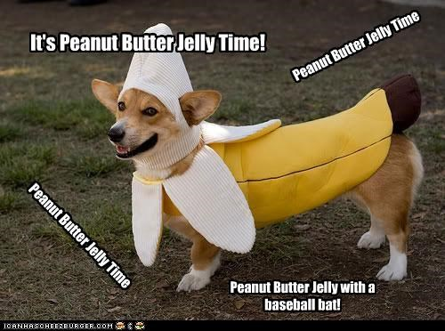 It's Peanut Butter Jelly Time! Peanut Butter Jelly with a baseball bat! Peanut Butter Jelly Time Peanut Butter Jelly Time