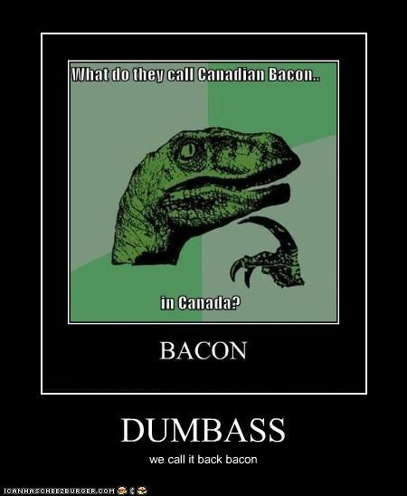DUMBASS we call it back bacon