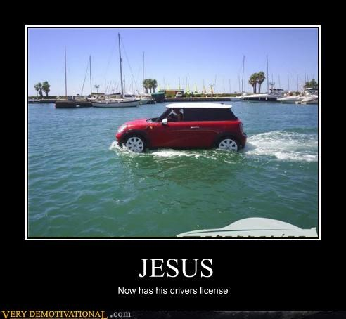 car,jesus,mini