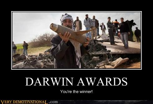 Awards,bad idea,bomb,Darwin