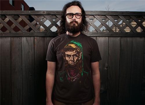 Fan Art geek style legend of zelda link link fan art merch T.Shirt - 4598327552