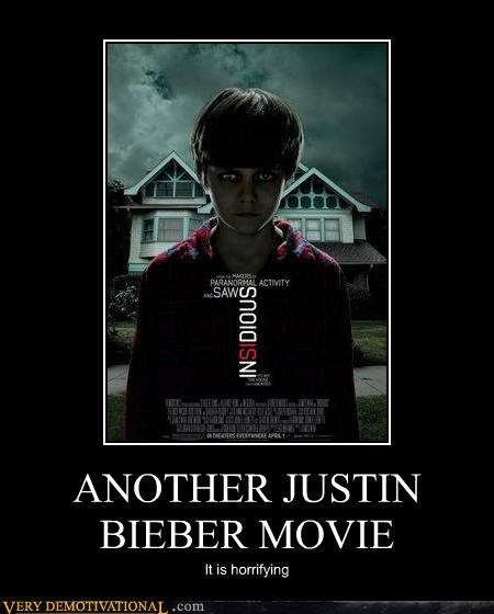 horrifying,justin bieber,Movie