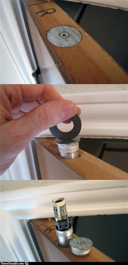 clever DIY hiding - 4598599936