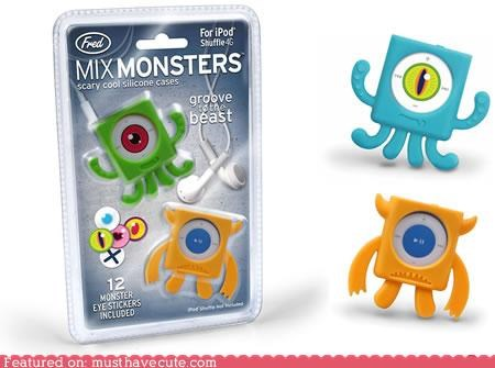 arms case ipod ipod nano legs monster Silicone - 4598765568