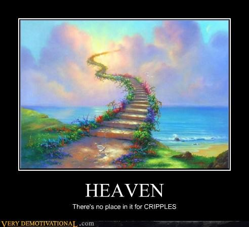 handicapped heaven stairs wtf - 4599078144