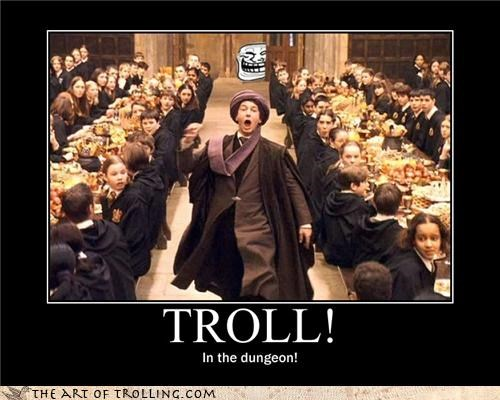 dungeon Harry Potter he-who-shall-not-be-trolled quirrel voldemort - 4599127296