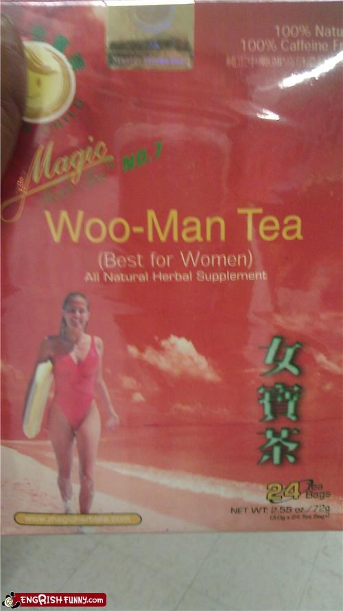 engrish tea woman