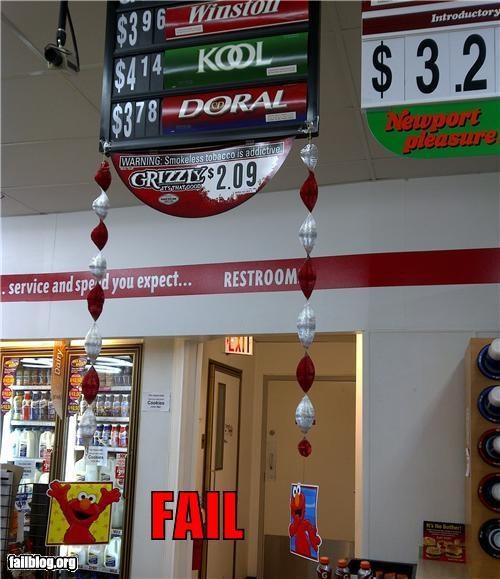 cigarrettes convenience store decorations elmo failboat g rated - 4599316992